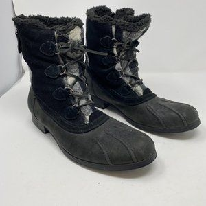 PAJAR CANADA Outremont Plaid Winter Duck Boots